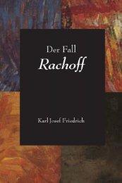 Der Fall Rachoff - Eine wahre Geschichte - Plough