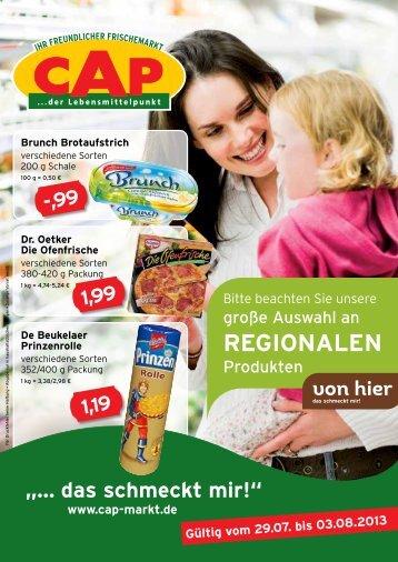 Wochenangebot KW 31 - Lebenshilfe Rastatt Murgtal