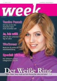 Workwear Ja, ich will! Ja, ich will! Special: Bildung ... - eVN.vol.at