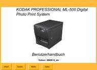 KODAK PROFESSIONAL ML-500 Digital Photo Print System ...