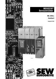 MOVIDYN® Servoumrichter - SEW Eurodrive