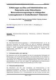 Erfahrungen aus Bau und Inbetriebnahme von Österreichs ... - EEG