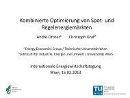 Internationale Energiewirtschaftstagung 15. Februar 2013, Wien - EEG