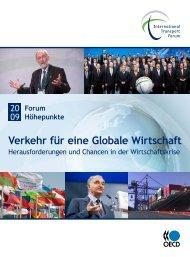 Verkehr für eine Globale Wirtschaft - International Transport Forum