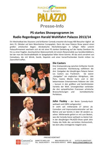 Presse-Info - Radio Regenbogen