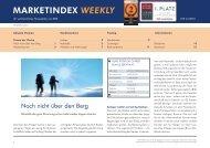 MARKETINDEX WEEKLY - RBS