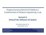 Präsentation Versuch 4 - Technische Informatik - Universität ...