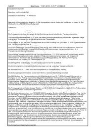 Transparenz SG Bayreuth