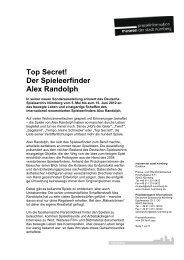 Top Secret! - Museen der Stadt Nürnberg