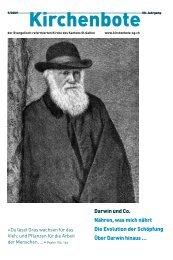 Darwin und Co. Nähren, was mich nährt Die Evolution ... - Kirchenbote