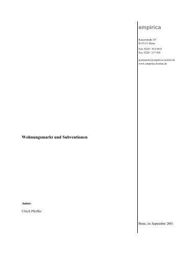 Von der Subvention zum Leistungsvertrag