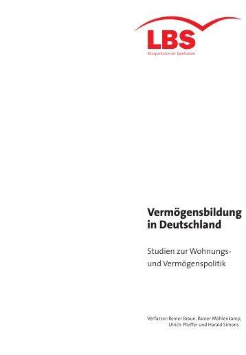 Vermögensbildung in Deutschland - Empirica