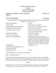 96-KA-00598 COA - Mississippi Supreme Court