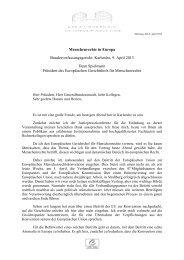 2013 Karlsruhe Spielmann - Menschenrechte in Europa