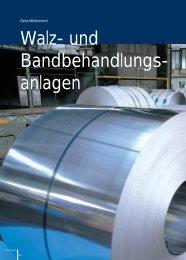 Walz- und Bandbehandlungs- anlagen - Andritz
