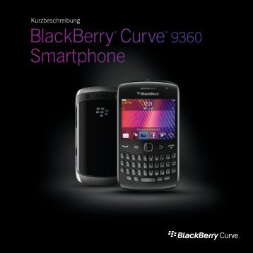 BlackBerry® Curve™ 9360 Smartphone