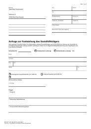 Anfrage zur Feststellung des Sozialhilfeträgers - Bad Oeynhausen