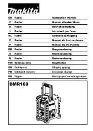 BMR100 - Makita