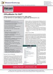 Allgemeines Datenblatt (965.67 KB) - Diskontcomputer