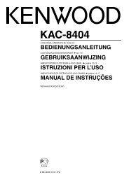 KAC-8404 - Kenwood