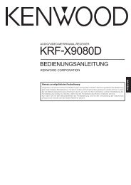 KRF-X9080D - Kenwood