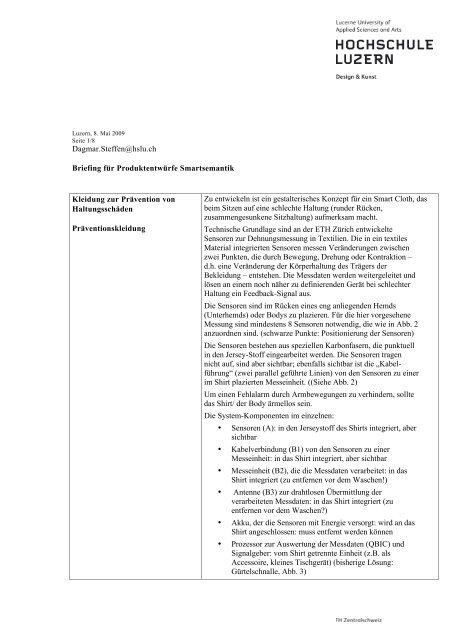 Dagmarsteffen At Hsluch Briefing Für Produktentwürfe