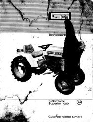 Betriebsanleitung bis 1970< Gutbrod 1050 Nr.24 - Gutbrod-bernd.de