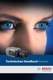 Technisches Handbuch Kamera - Bosch Security Systems