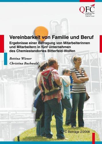 Vereinbarkeit von Familie und Beruf - QFC