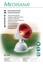 DE Infrarotleuchte IRL GB Infrared lamp IRL - Quelle