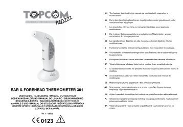 HL_Ear & Forehead Thermometer 301 D106.book - Fonq.nl