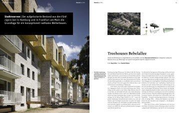 Treehouses Bebelallee - Bauwelt