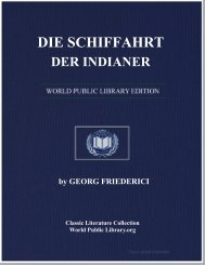 DIE SCHIFFAHRT DER INDIANER - World eBook Library