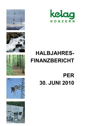 Halbjahresfinanzbericht - Kelag