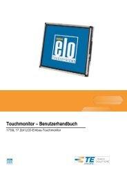 Touchmonitor – Benutzerhandbuch