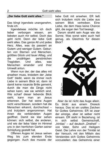 Newsletter 2 (Jun – Aug 2013) - Evangelischen Synode Deutscher ...