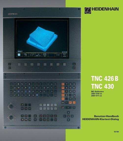TNC 426B TNC 430 - heidenhain
