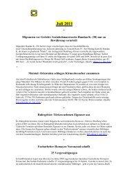 gegen Eurabien 12-2006 bis 07-2011 ...ausführlich ... - deutschelobby