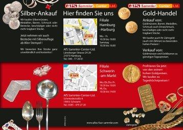 Silber-Ankauf Hier finden Sie uns Gold-Handel - Afterbuy