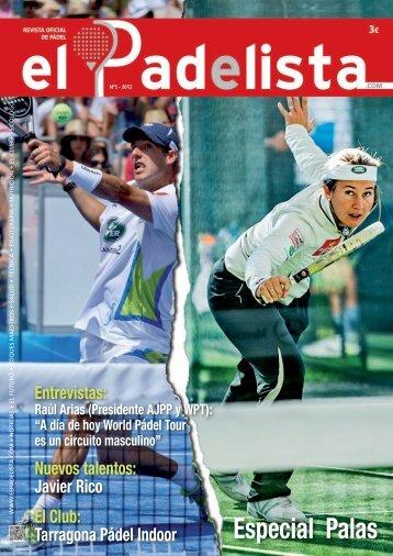 Revista de Pádel Oficial - Nº5 - Especial Palas