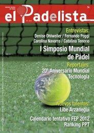 Revista de Pádel Oficial - Nº2