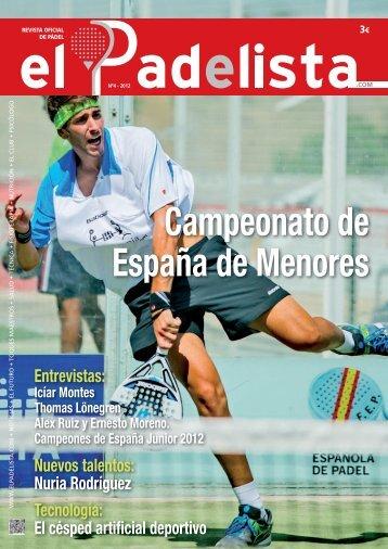 Revista de Pádel Oficial - Nº4