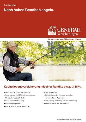 Kapital Plus Nach hohen Renditen angeln!