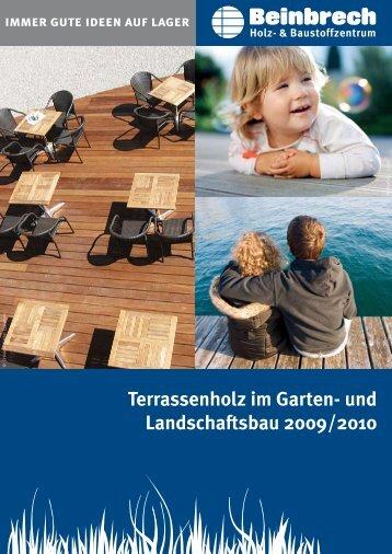 Terrassenholz im Garten- und Landschaftsbau 2009/2010 - Beinbrech