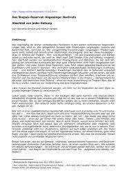 Abgesänge: Nachrufe Abschied von jeder Haltung - Bochumer ...
