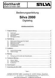 Gotthardt Silva 2000 - Busse Yachtshop