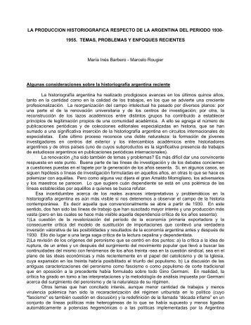 1955. TEMAS, PROBLEMAS Y ENFOQUES RECIENTES María In