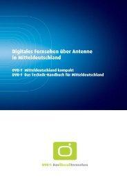 Digitales Fernsehen über Antenne in Mitteldeutschland - Internet Info