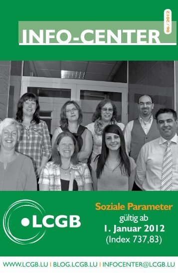 Broschüre - LCGB