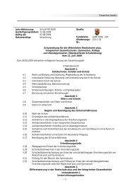 Schulordnung - Gymnasien in Rheinland-Pfalz